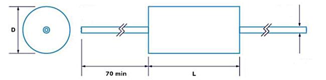 CMR polypropylene audio capacitor from ClarityCap